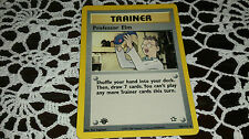 Professor Elm Pokemon Card UNCOMMON Trainer [NEO GENESIS]