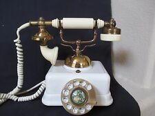 Vintage Replica of an Antique Phone Bell Telephone by Pacific Bell Model CS