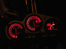 RED ZX9R B led dash clock conversion kit lightenUPgrade