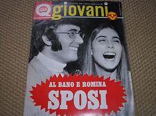 RIVISTA QUI GIOVANI 32 1970 AL BANO ROMINA SPOSI LAURA NYRO POSTER PAOLO MENGOLI