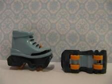 MATTEL MYSTERY SQUAD BARBIE Doll Shoe Heelies Retract Wheel Roller Skates Heelys
