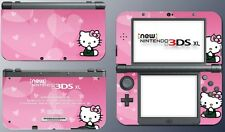 Cute Kitty Pink Heart Pretty Girl Doll Video Game Decal Skin New Nintendo 3DS XL