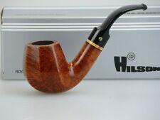 Hilson Pfeife Gigant Braun Poliert 9mm Filter #797