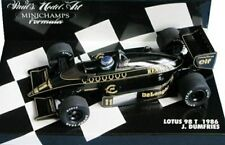 MINICHAMPS 430 860011 LOTUS 98T F1 diecast model car J Dumfries 1986 1:43rd