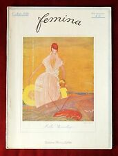 Femina Magazine ~ August 1, 1920 ~ Benito Cover ~ Vintage French Fashion