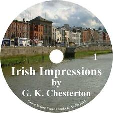 Irish Impressions, Classic Historical Audiobook by G K Chesterton on 1 MP3 CD