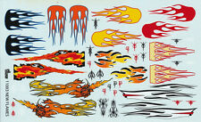 Vintage Hot Rod Flames #11003 1/24th - 1/25th  Scale Waterslide Decals