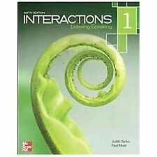 Interactions Level 1 Listening/Speaking Student Book by Judith Tanka and Paul M…