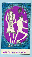 BG 117 concert ticket 1968 Albert King Electric Flag Bill Graham Winterland
