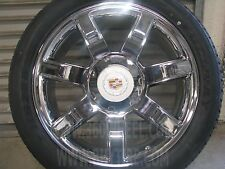 "22""x9"" Cadillac Escalade Rims Replica Chrome Factory Style Wheels Sale 24"