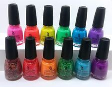 China Glaze Electric Nights Summer 2015 Colection set 12 colors Full Size 0.5 oz