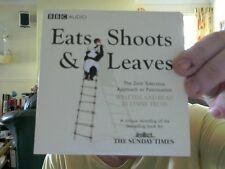 EATS, SHOOTS & LEAVES BBC AUDIO CD GREAT XMAS GIFT! FREE UK POST