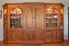 5-Piece Solid Pine Wall Unit