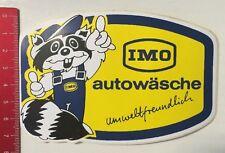 Aufkleber/Sticker: IMO - Autowäsche - Umweltfreundlich (16031641)
