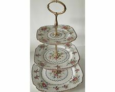 Royal Albert Petit Point 3 Tiered Cake or Tidbit Stand