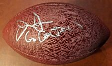 "Jerry Jones Signed Duke Replica Full Size Football w/ INS ""Go Cowboys"" w/ COA"