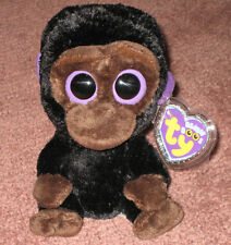 TY BEANIE BOOS BOO'S - ROMEO the GORILLA - MINT with MINT TAGS