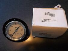 "Grainger Pressure Gauge 2 1/2"" Wall Mount 4UA58"