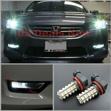 LED Fog Lamp Light Bulb 68-SMD For 2014 Honda ACCORD 9th Gen Xenon White
