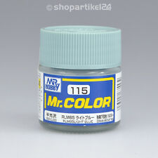 (26€/100ml) Mr.Color C115 Light Blue Hellblau RLM65 Aircr.(SG) - Mr.Hobby GUNZE