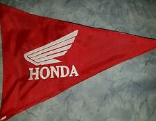 Custom Triangle Honda Safety Flag 4 ATV Jeep Recumbent  bike UTV Whip Pole