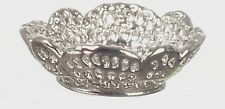 Pretty Ornate Metal Bowl , Dolls House Miniature price is for a single bowl