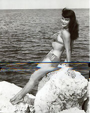 Bettie Betty Page Leggy 8x10 photo T4239