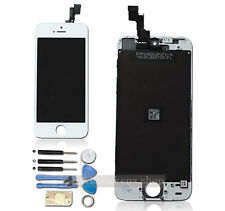 UK For Apple iPhone 5S White LCD Digitizer Touch Screen Glass Assembly+Tools