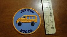 VINTAGE JERICHO BUS CO JERICHO NEW YORK  SALESMAN COPY PATCH BX V #15