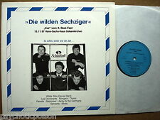 Die wilden Sechziger  Live 2. Beat Festival 1987 2-LP German Blue Flames Ravells