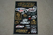 ONE INDUSTRIES SKULL  UNIVERSAL GRAPHICS STICKERS 12X18 SHEET