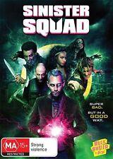 Sinister Squad (DVD, 2016) (Region 4) Aussie Release