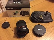 Vivitar 8mm Fisheye Lense