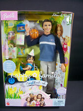 NIB BARBIE DOLL 2003 HAPPY FAMILY NEIGHBORHOOD HAPPY BIRTHDAY ALLAN & RYAN