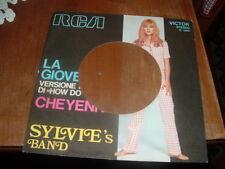 """SYLVIE VARTAN """" LA GIOVENTU' """" SOLO COPERTINA FORATA NON C'E' IL VINILE ITALY'72"""