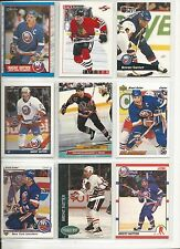 Lot of 1000 (One Thousand) Brent Sutter Hockey Card Collection Mint