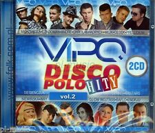 = VIPO DISCO POLO HITY vol.2 [2 CD] Sealed from Poland / disco polo & dance 2014