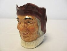 "Royal Doulton Simon The Cellarer Small 3 1/4"" Character Jug, Mint, FAST SHIPPING"