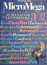 MICROMEGA. ALMANACCO LETTERATURA 3/2002
