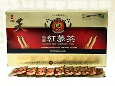 Korean Red Ginseng 6years Root Tea Anti Fatigue Stress 3g x 100 bags