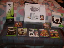 Microsoft Xbox 360 Kinect Star Wars Limited Edition 320 GB COMPLETE BUNDLE!!