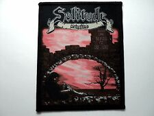 SOLITUDE WOVEN  PATCH
