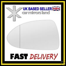 Left Passenger Wing Car Mirror Glass WIDE ANGLE VAUXHALL CORSA D 2006-2014