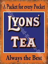 Lyons' Tea Drink Cafe Kitchen Old Vintage Shop Advertising Novelty Fridge Magnet