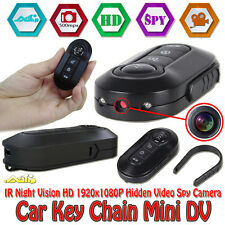 NEW Mini 1080P DV Camera Car Key Chain IR Night Vision HD Video DVR I