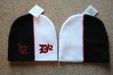 D12 EMBROIDERED LOGO MISMATCH BEANIE SKI HAT CAP BNWT OFFICIAL EMINEM DEVIL'S
