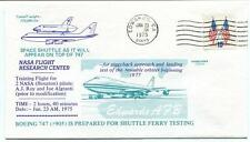 1974 Space Shuttle & Boeing 747 NASA Flight Research Edwards Roy & Algranti