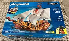 BNIB - Playmobil 5678 - Red Serpent Pirate Ship - RRP £59.99 - #001