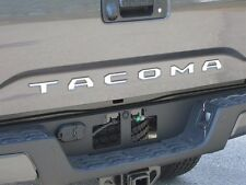 Fits Toyota Tacoma 2016 Stainless Chrome Polished Tailgate Letter Inserts 6PCS