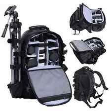 Adjustable Extra Large DSLR Camera Travel Bag Backpack Lens Tripod Bag Weather